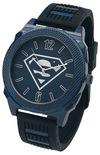 Superman Superman Logo Armbanduhren schwarz blau powered by EMP (Armbanduhren)