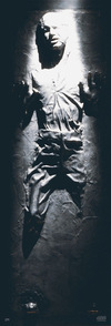 Star Wars Han Solo Carbonite powered by EMP (Poster)