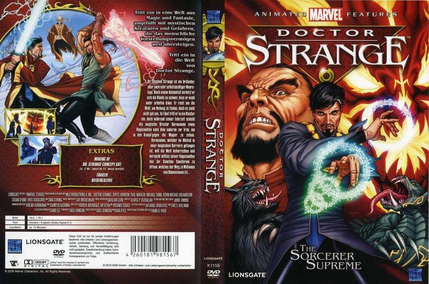Doctor Strange - The Sorcerer Supreme: DVD oder Blu-ray ...  Doctor Strange ...