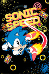 Sonic The Hedgehog Sonic Speed powered by EMP (Poster)