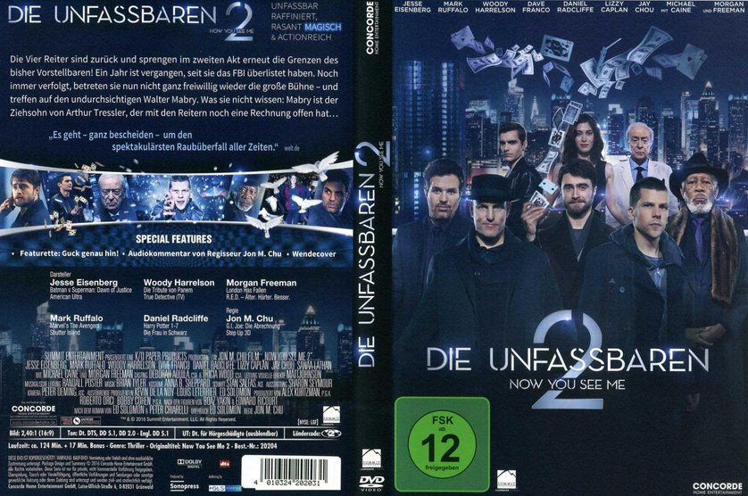 Now You See Me 2 Stream German