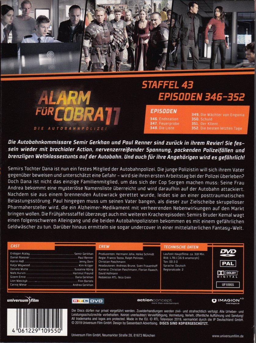 Alarm Für Cobra 11 Staffel 43