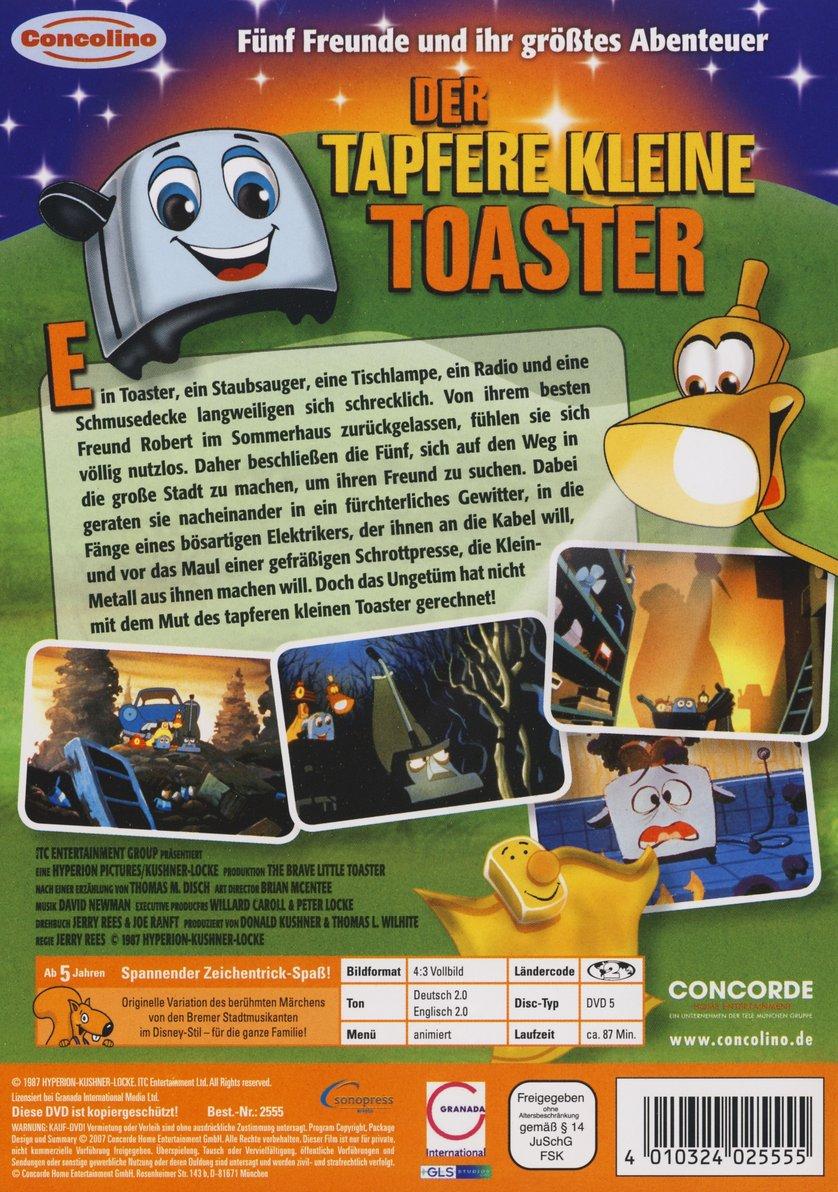 Der tapfere kleine Toaster DVD oder Blu ray leihen VIDEOBUSTER