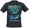 Megadeth Contamination Glow In The Dark powered by EMP (T-Shirt)