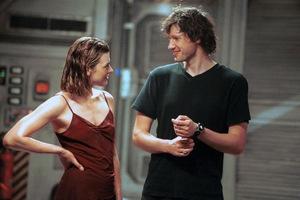 Der Regisseur mit seinem Star 2002