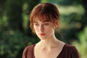 Als Elizabeth Bennet in Jane Austens 'Stolz und Vorurteil'