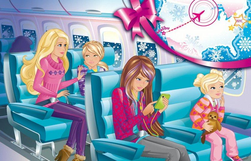 zauberhafte weihnachten barbie