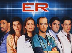 Die Ärzte aus 'ER - Emergency-Room', unter ihnen George Clooney