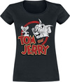 Tom And Jerry Tom And Jerry Distressed powered by EMP (T-Shirt)