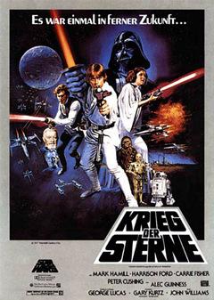 Der 'Krieg der Sterne' © Lucasfilm 1977