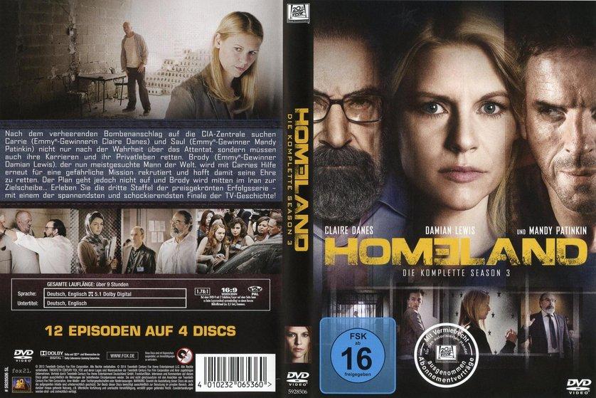 Homeland Staffel 3 Deutsch