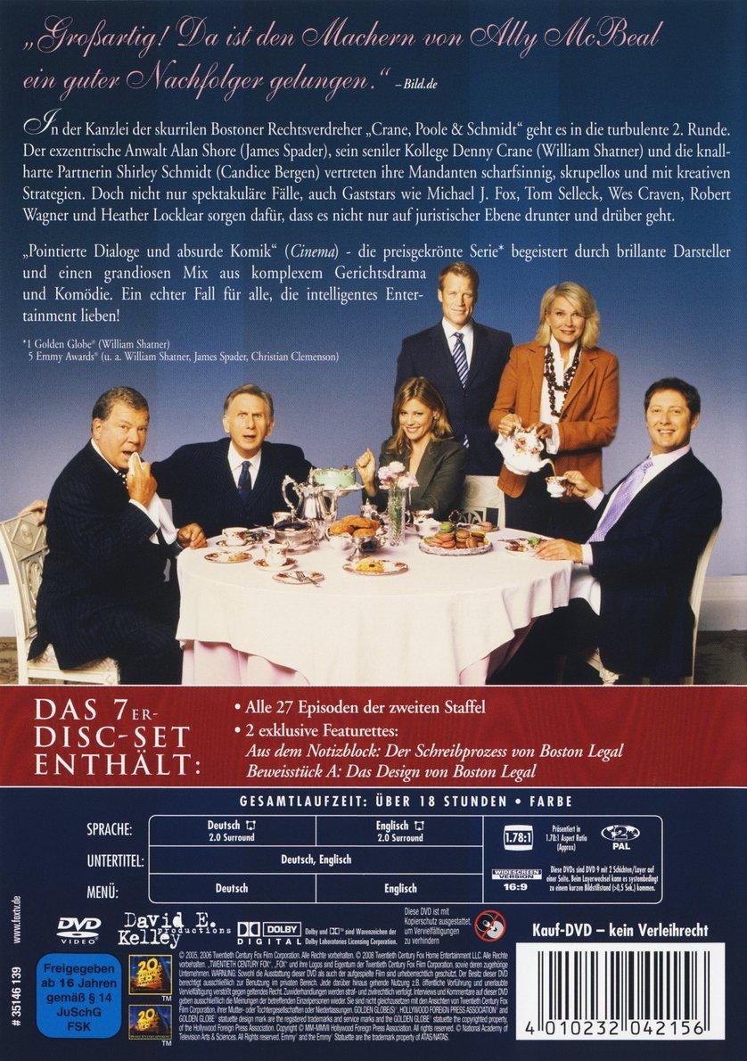 Boston Legal Staffel 2