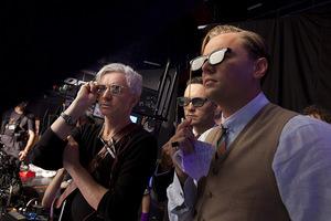 Luhrmann, Maguire und DiCaprio beim Dreh