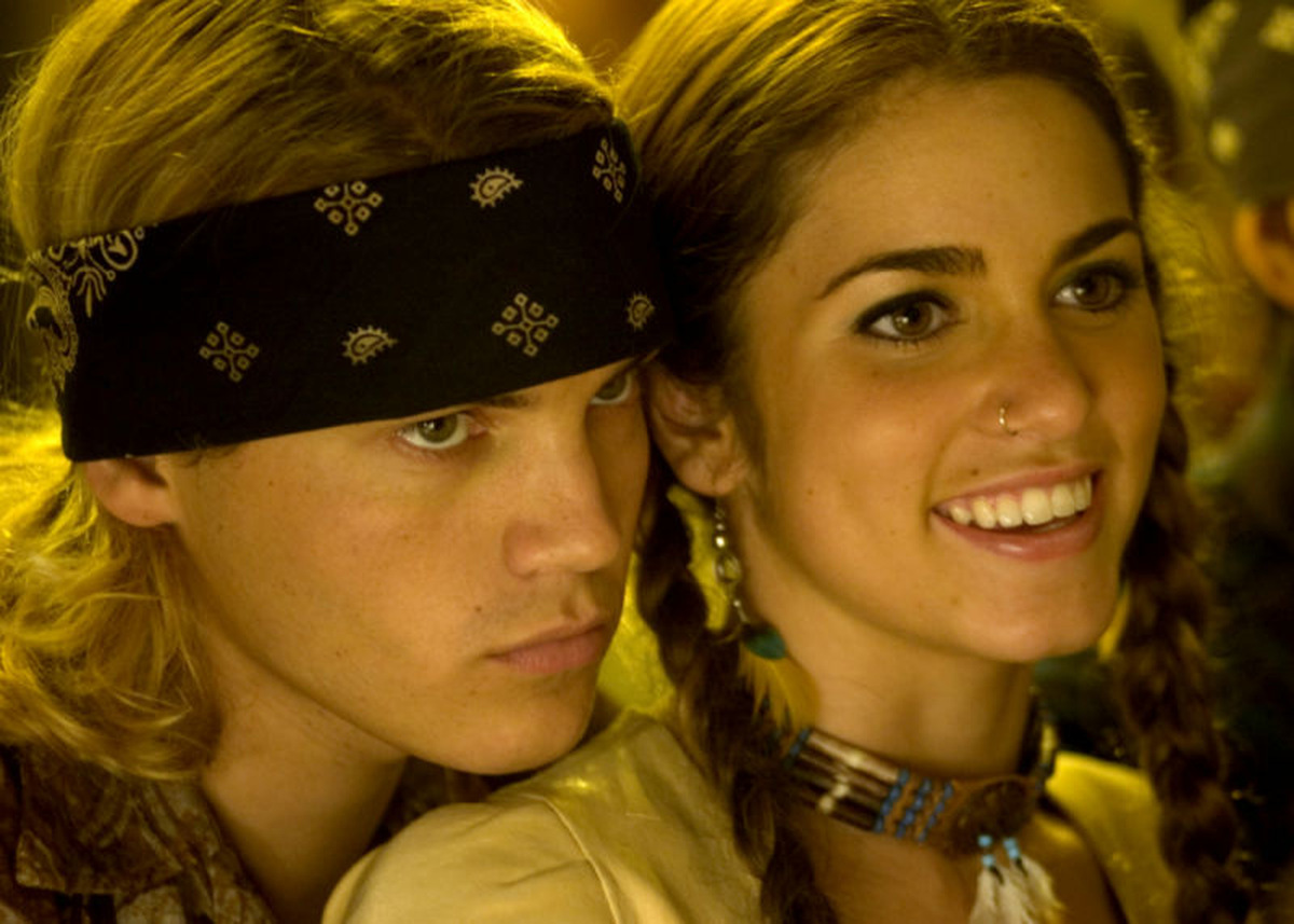 Emile Hirsch und Nikki Reed in 'Dogtown Boys' © Sony Pictures Home Entertainment 2005