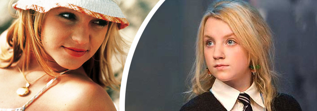 Evanna Lynch: Potter-Star Luna Lovegood als Popstar Britney Spears