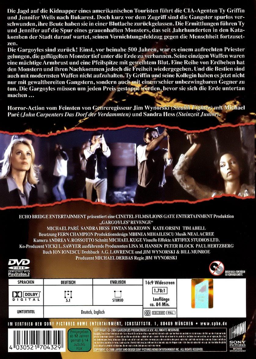 Gargoyles  Flügel des Grauens DVD oder Bluray leihen