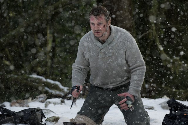 Liam Neeson in 'The Grey' © Universum Film 2012