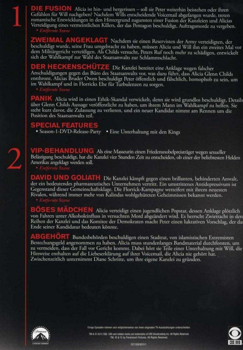 The Good Wife - Staffel 2: DVD oder Blu-ray leihen ...