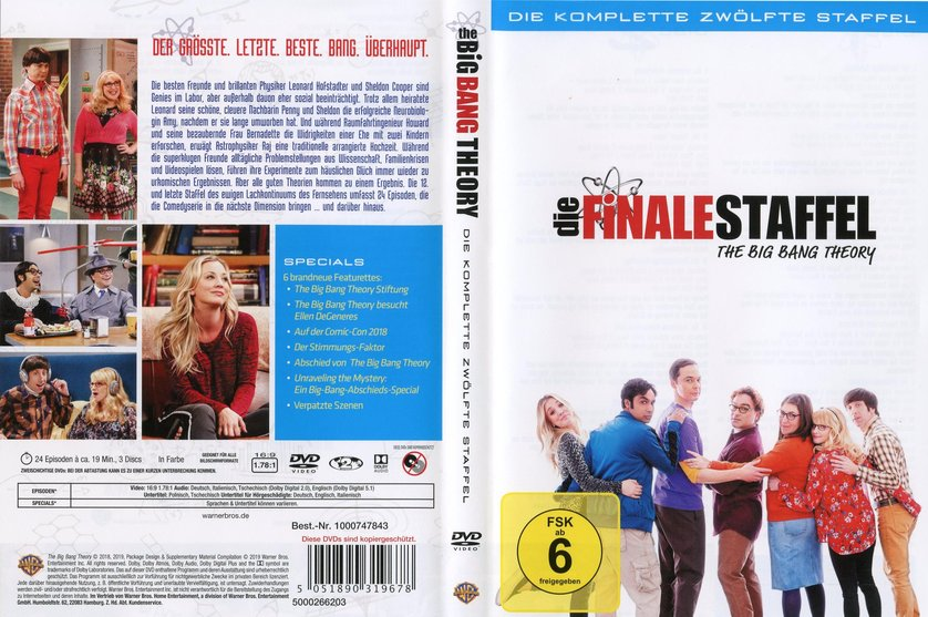 Big Bang Theory Staffel 12 Dvd