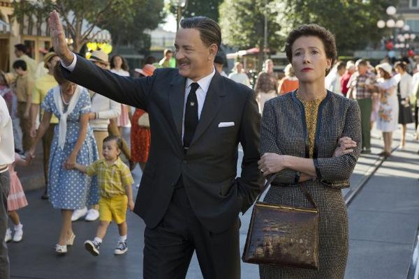 Hanks und Emma Thomson in 'Saving Mr. Banks' © Disney
