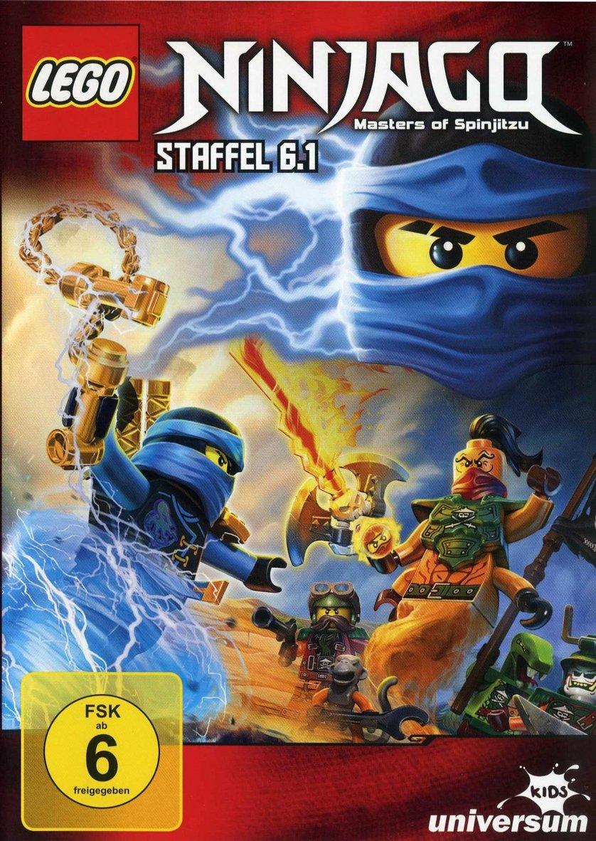 Lego ninjago staffel 6 dvd oder blu ray leihen - Lego ninjago 6 ...