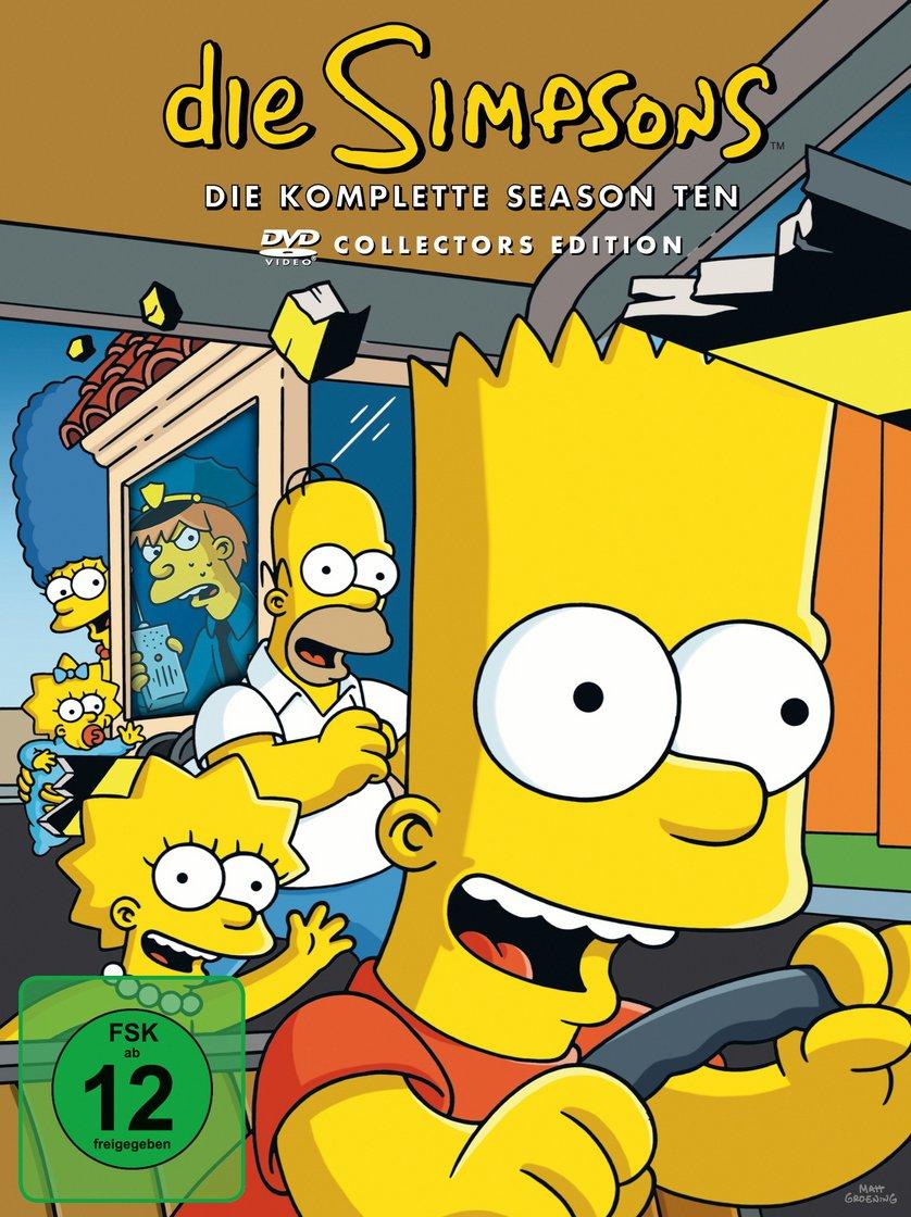 Die Simpsons Staffel 10 Dvd Oder Blu Ray Leihen