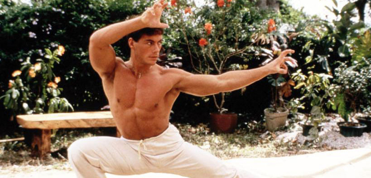 Jean-Claude Van Damme als Frank Dux in 'Bloodsport' 1988 © MGM Home Entertainment