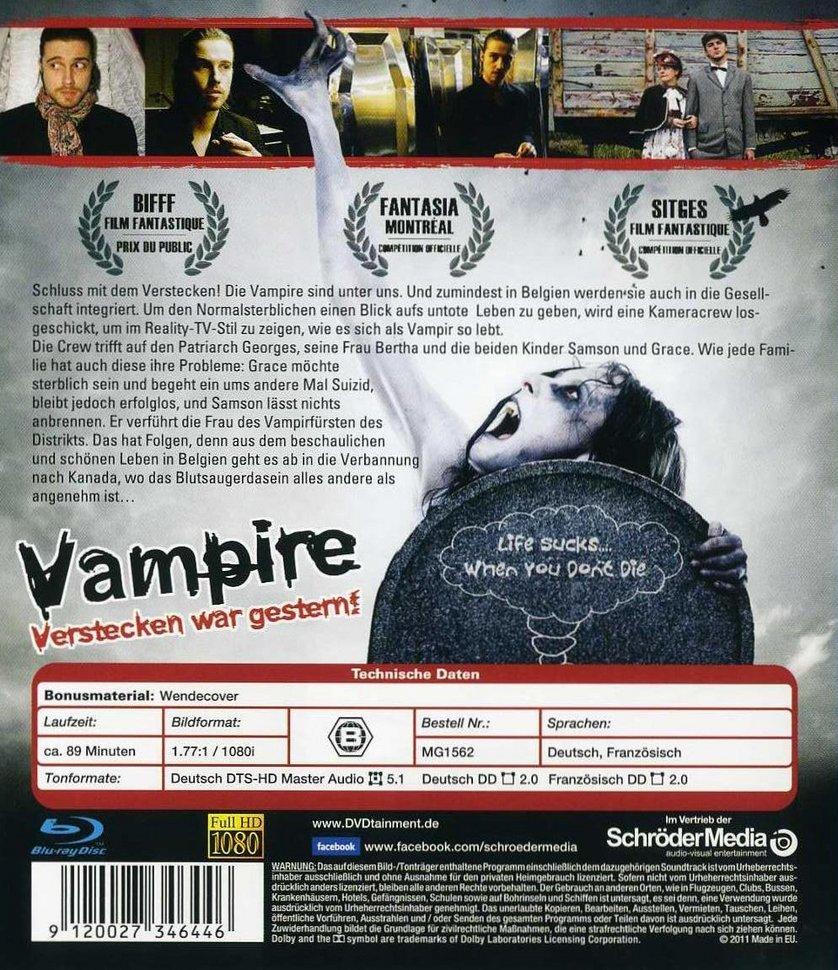 Vampire Verstecken War Gestern