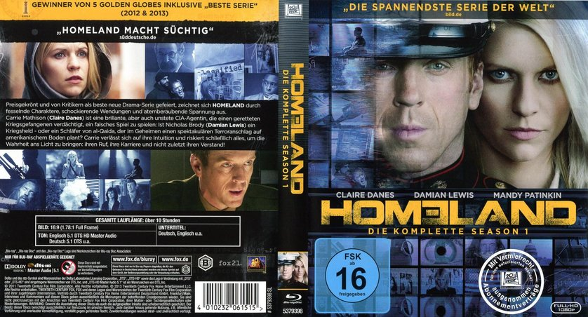 homeland staffel 1 deutsch