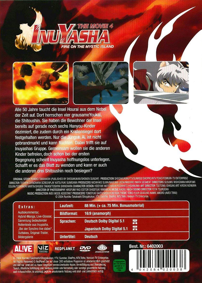 InuYasha - The Movie 4: DVD oder Blu-ray leihen ...