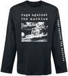 Rage Against The Machine Self Immolation powered by EMP (Langarmshirt)