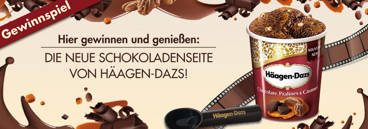 Häagen-Dazs Genießer-Pakete: Süßes Filmvergnügen mit neuer Schokoladenseite