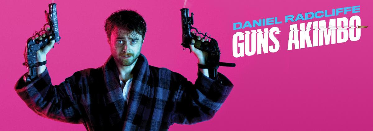 Guns Akimbo: Daniel Radcliffe gegen Samara Weaving