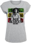 Bob Marley Rebel Music Stripes powered by EMP (T-Shirt)