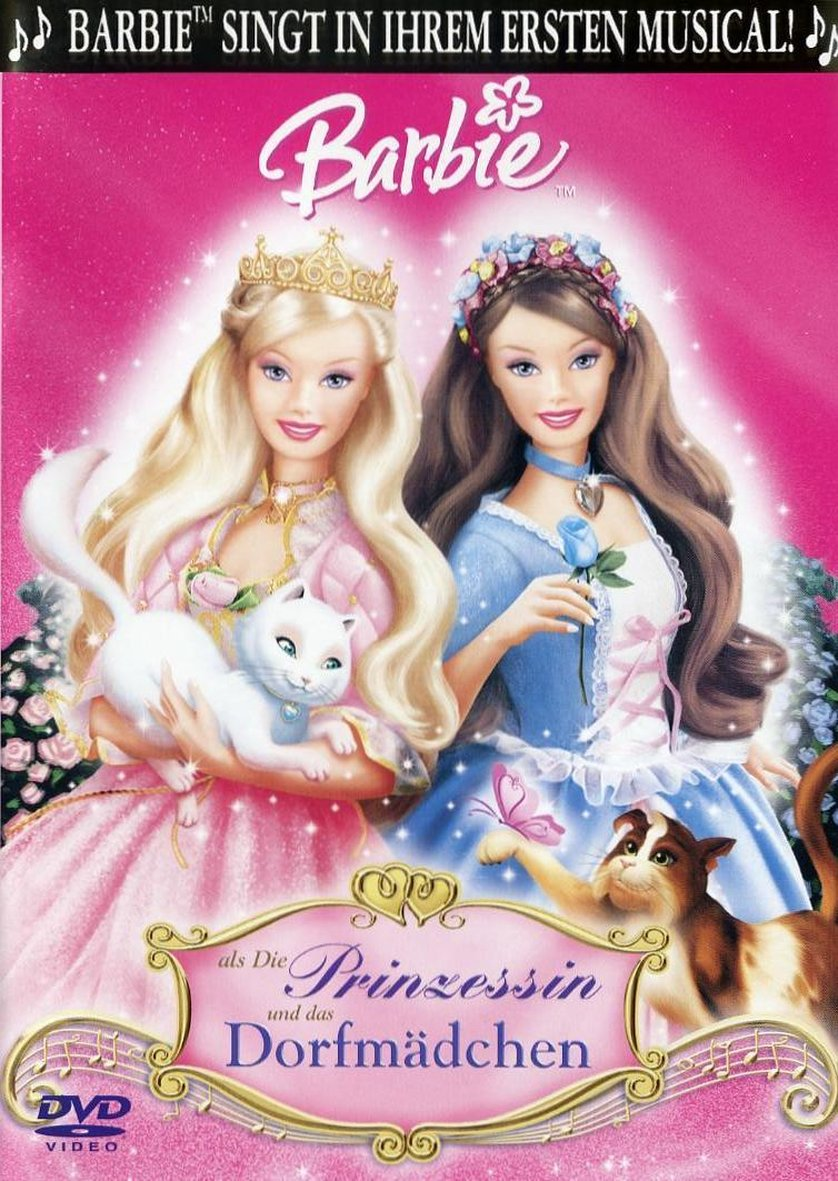 Barbie als die prinzessin und das dorfm dchen dvd oder - Barbie en princesse ...