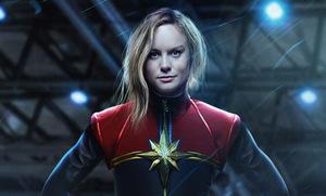 Brie Larson ist 'Captain Marvel' © Marvel