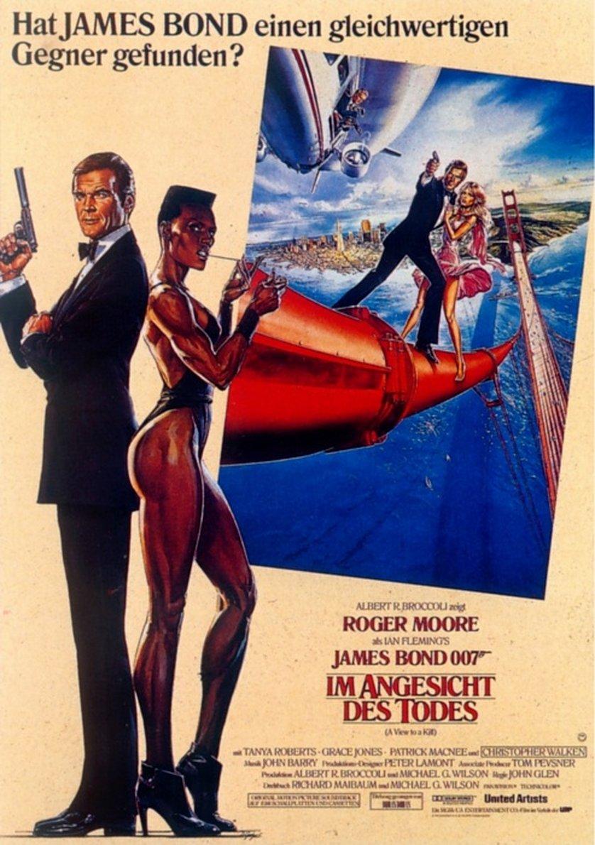 james bond 007 im angesicht des todes dvd oder blu ray. Black Bedroom Furniture Sets. Home Design Ideas