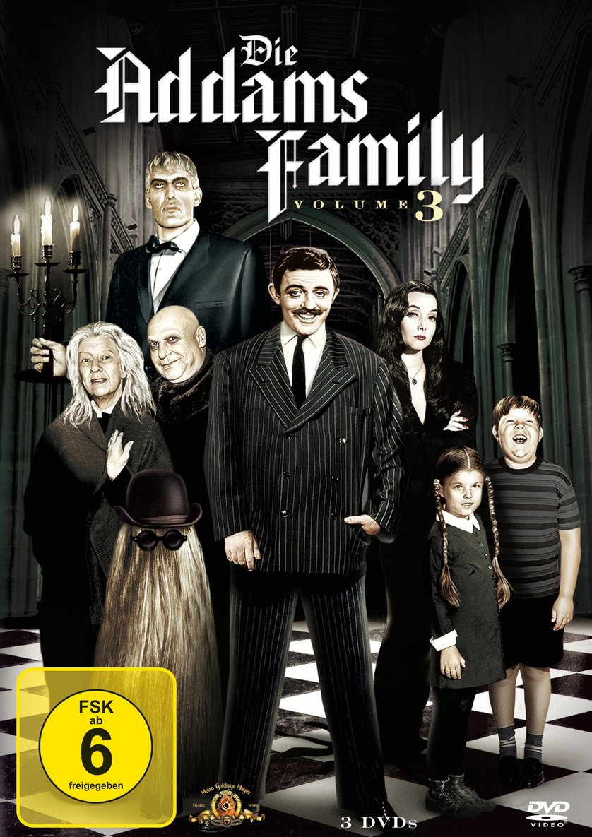 die addams family staffel 3 dvd oder blu ray leihen. Black Bedroom Furniture Sets. Home Design Ideas