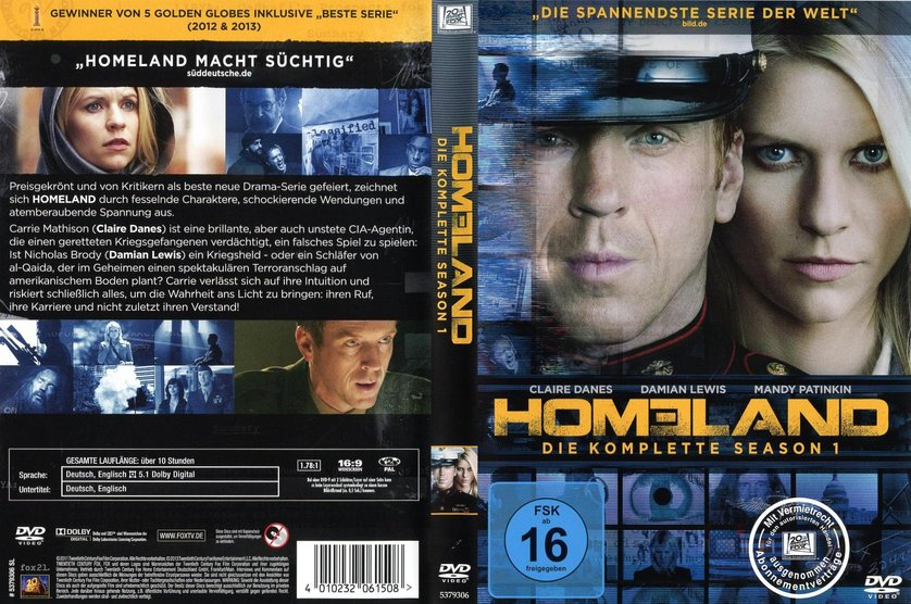 homeland staffel 1 deutsch