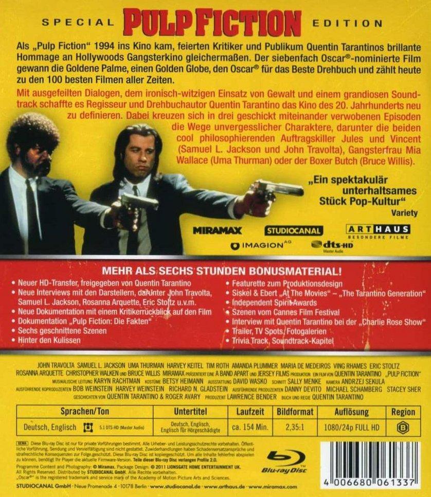 Pulp Fiction Uncut Stream German