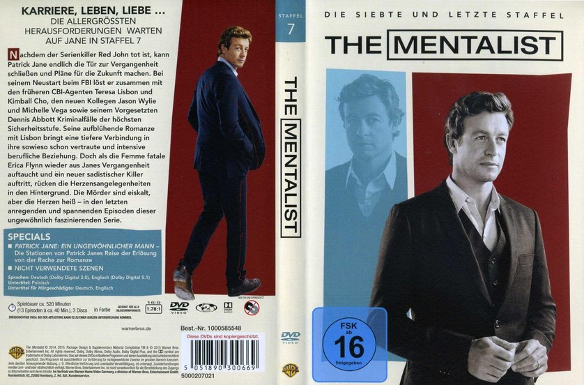 The Mentalist Staffel 7 Deutsch