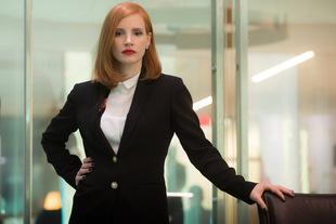 Jessica Chastain als Lobbyistin Elizabeth Sloane in 'Die Erfindung der Wahrheit' (2016) © Universum Film