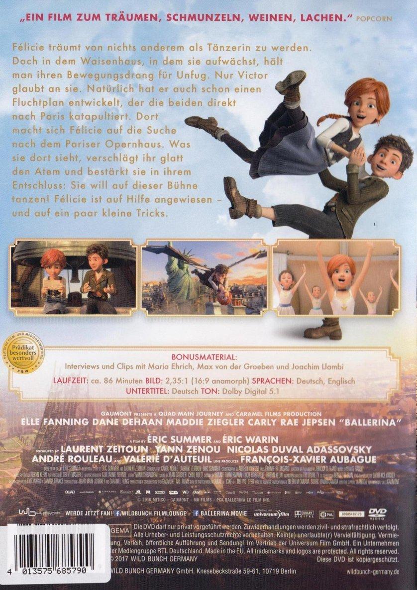 Ballerina: DVD, Blu ray oder VoD leihen