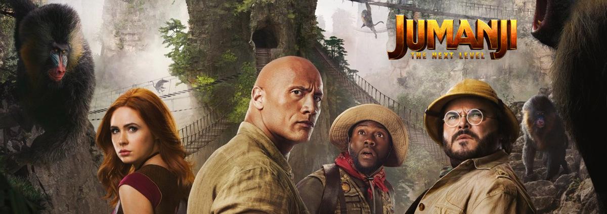 Jumanji  - The Next Level: Das Spiel hat sich verändert - Jumanji 3