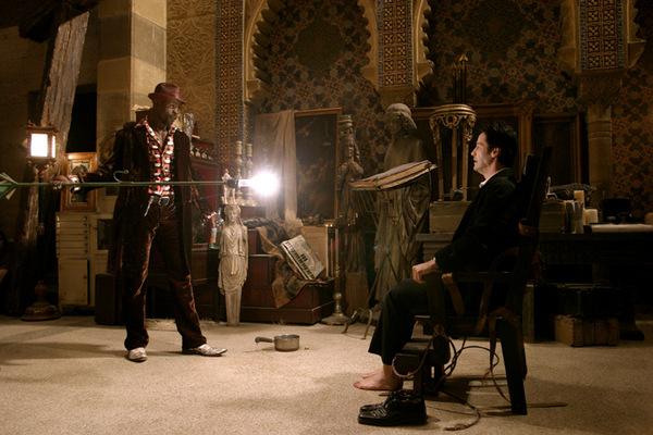 Djimon Hounsou und Keanu Reeves