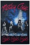Mötley Crüe Girls, girls, girls powered by EMP (Flagge)