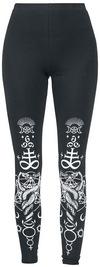Jawbreaker Viper Black Leggings Leggings schwarz weiß powered by EMP (Leggings)