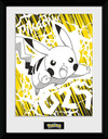 Pokémon Pikachu Bolt 25 powered by EMP (Gerahmtes Bild)
