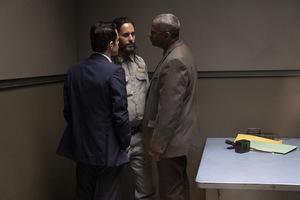 Rami Malek, Jared Leto & Denzel Washington in 'The Little Things (USA 2021) © Warner Bros.