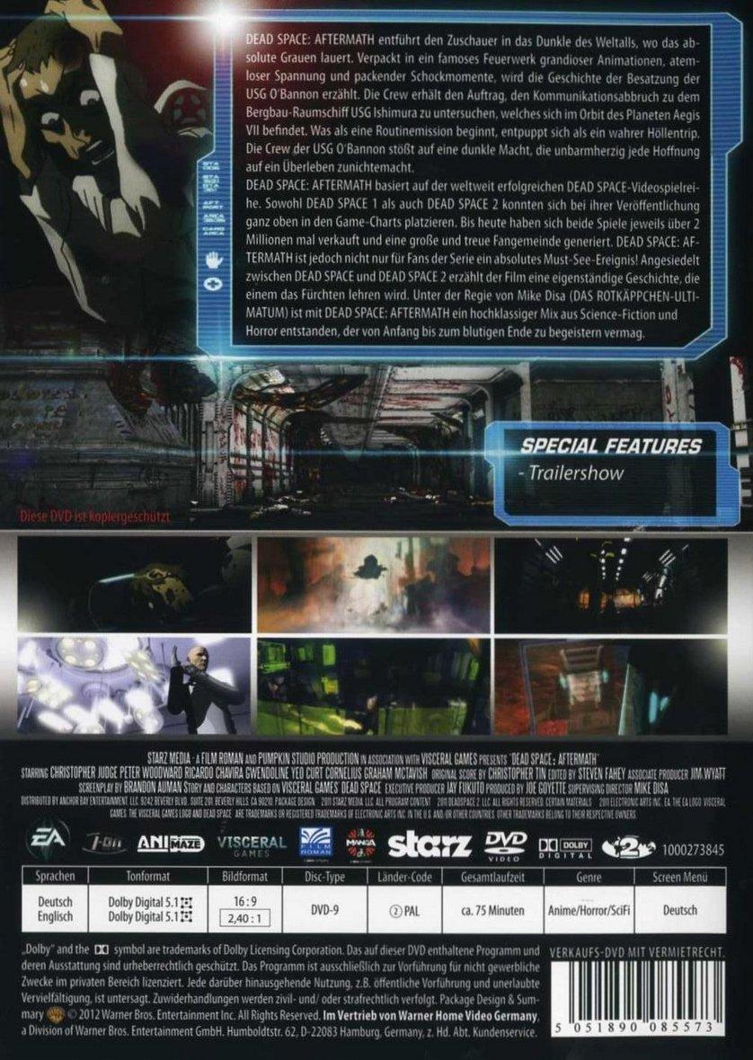 Dead space aftermath 3d for 3d film archive
